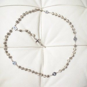 Jewelry - NWOT Italian Silver Rosary from the Vatican